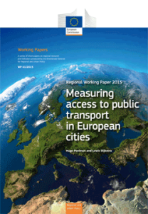 Paper: Measuring access to public transport in European cities