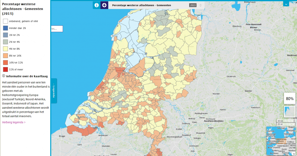 Neighbourhood statistics, The Netherlands