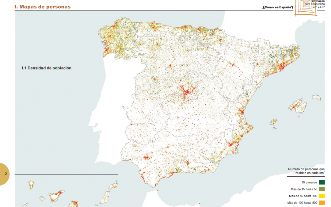 Spanish Map Of Spain.Spanish 1st Gridded Maps From 2011 Population And Housing Census